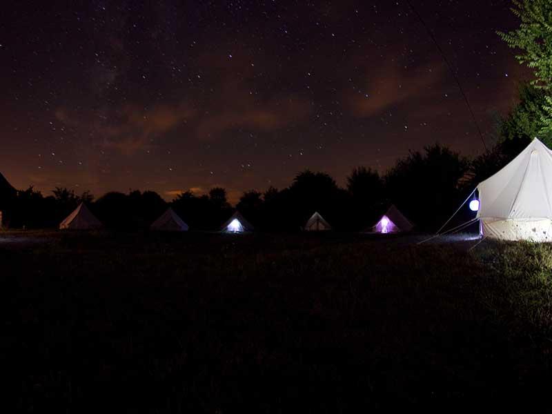 Domaine du Denais - campement en plein air